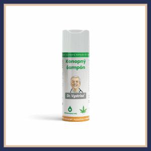 konopný šampón
