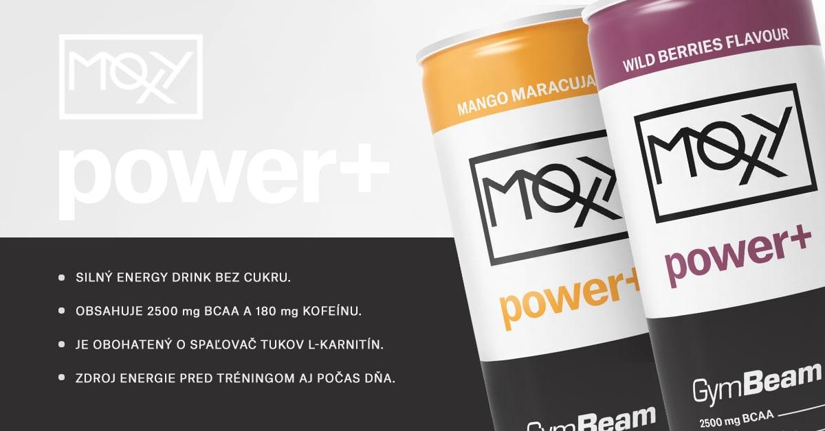 Moxy Power+ Energy Drink - GymBeam