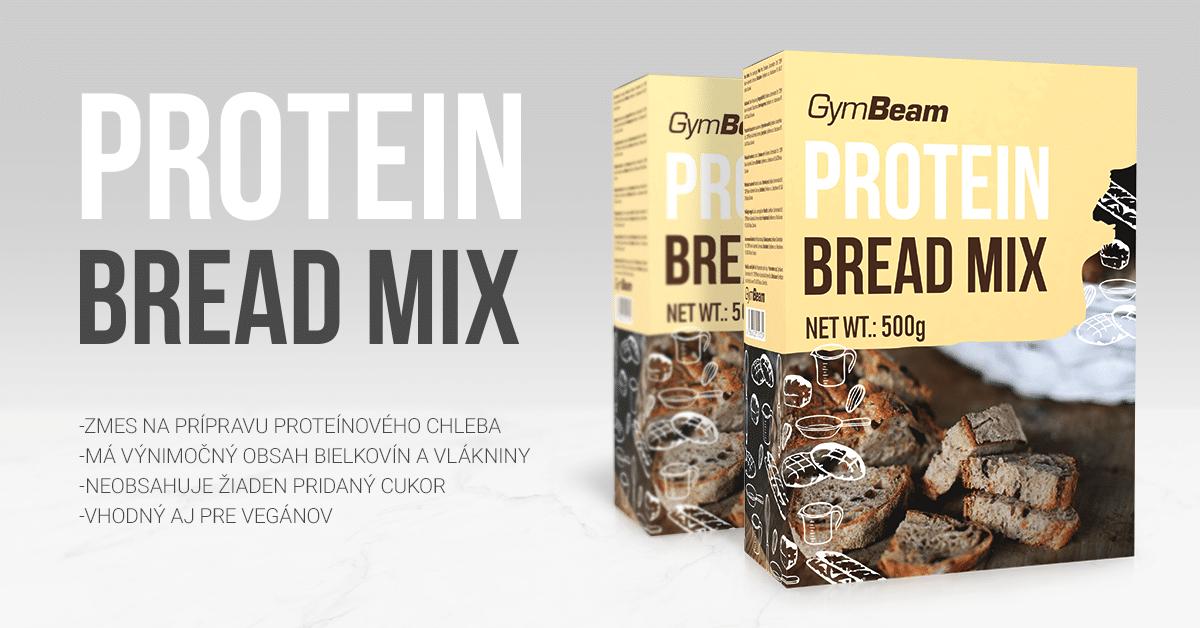 Proteínový chlieb Protein Bread Mix 500 g - GymBeam