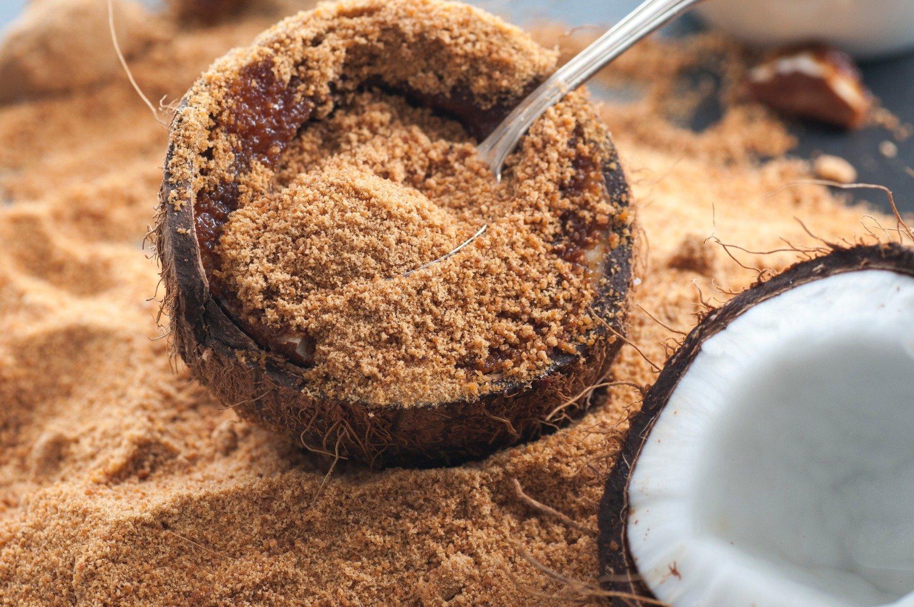 Kokosový cukor v bio kvalite, ktorý má nízky glykemický index