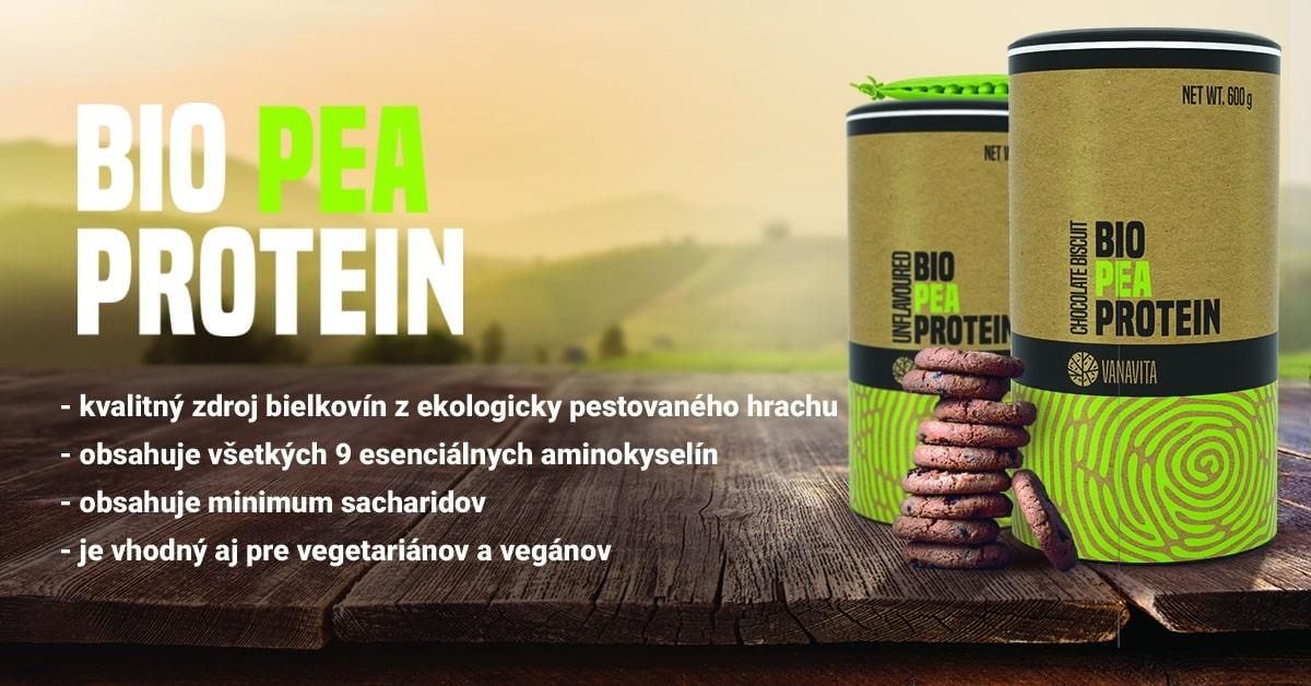 BIO Hrachový proteín - VanaVita
