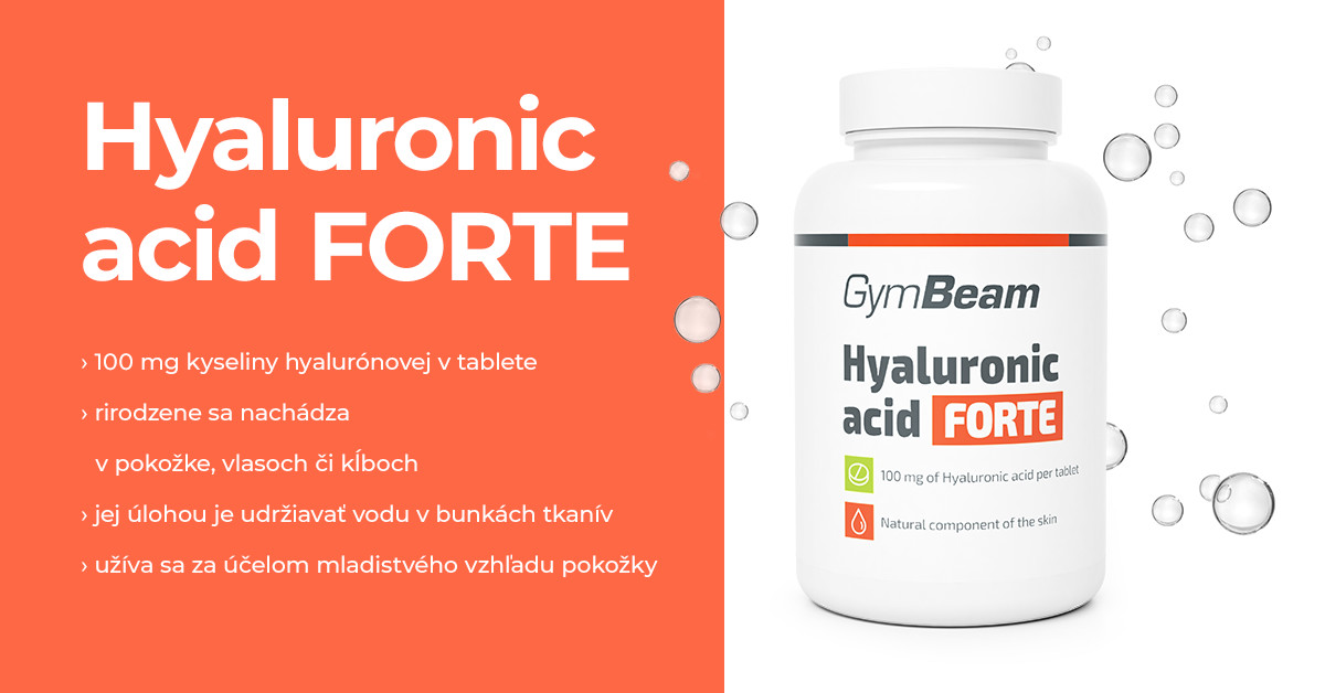 Kyselina hyalurónová Forte - GymBeam