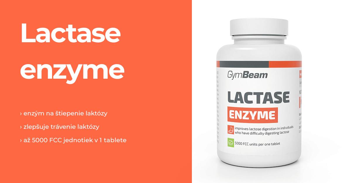 Laktáza enzým - GymBeam